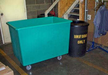 20 Bushel Laundry Cart, 20 Bushel Recycling Cart
