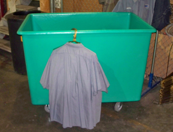 20 Bushel Linen Cart, 20 Bushel Hospital Cart