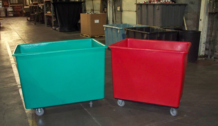 Bushel Carts together, 16 Bushel Cart, 20 Bushel Cart