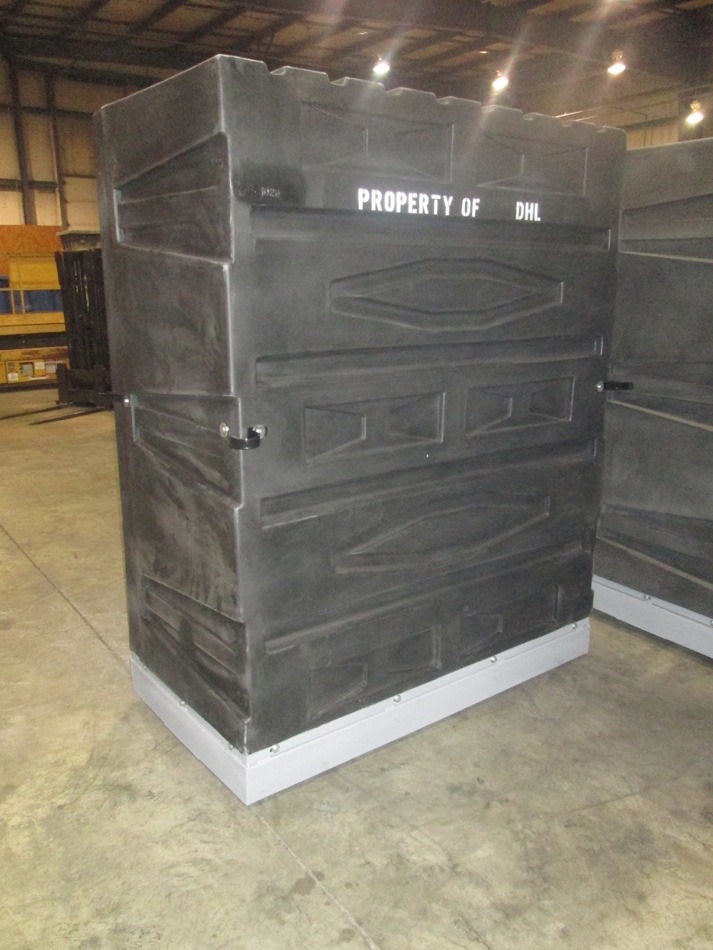 Small Package Delivery Container, Truck Container, Truck Delivery Container, Cargo Shipping Container