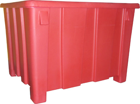 GP1004, Plastic Gaylord Container, Bulk Storage Container, Bulk Handling Container, Bulk Container, Shipping Container, Plastic Container, Heavy Duty Plastic Container, Shred Bin, Document Bin, Laundry Bin, Storage Bin, Storage Tote, Poly Tote, Material Handling Tote, DOT Tote, Gaylord Container, Bulk Container, Roto-Molded Container, Rotational Molding Container, Rotational Molding Product