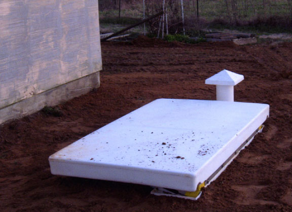 Installed Underground Shelter, Installed Tornado Shelter, Storm Shelter in the ground