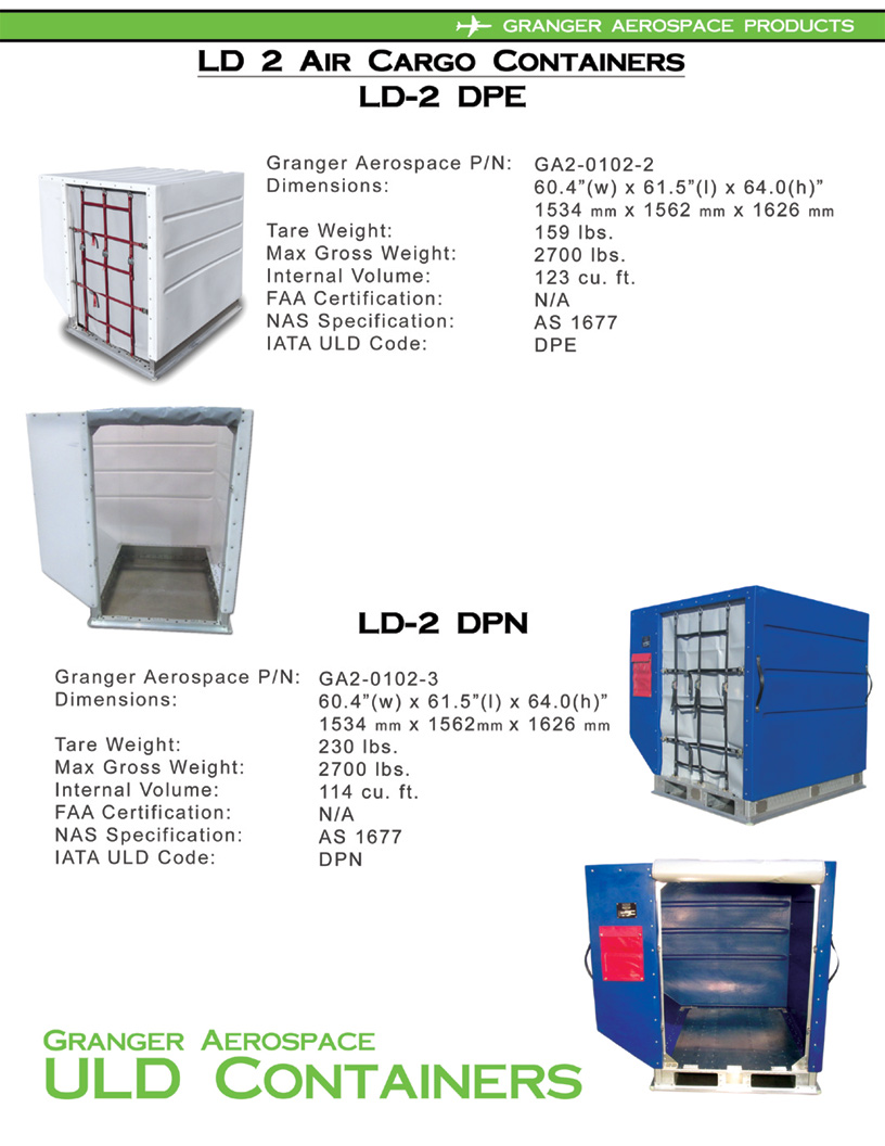 Ldn Container Volume Air Cargo Containers Uld Containers