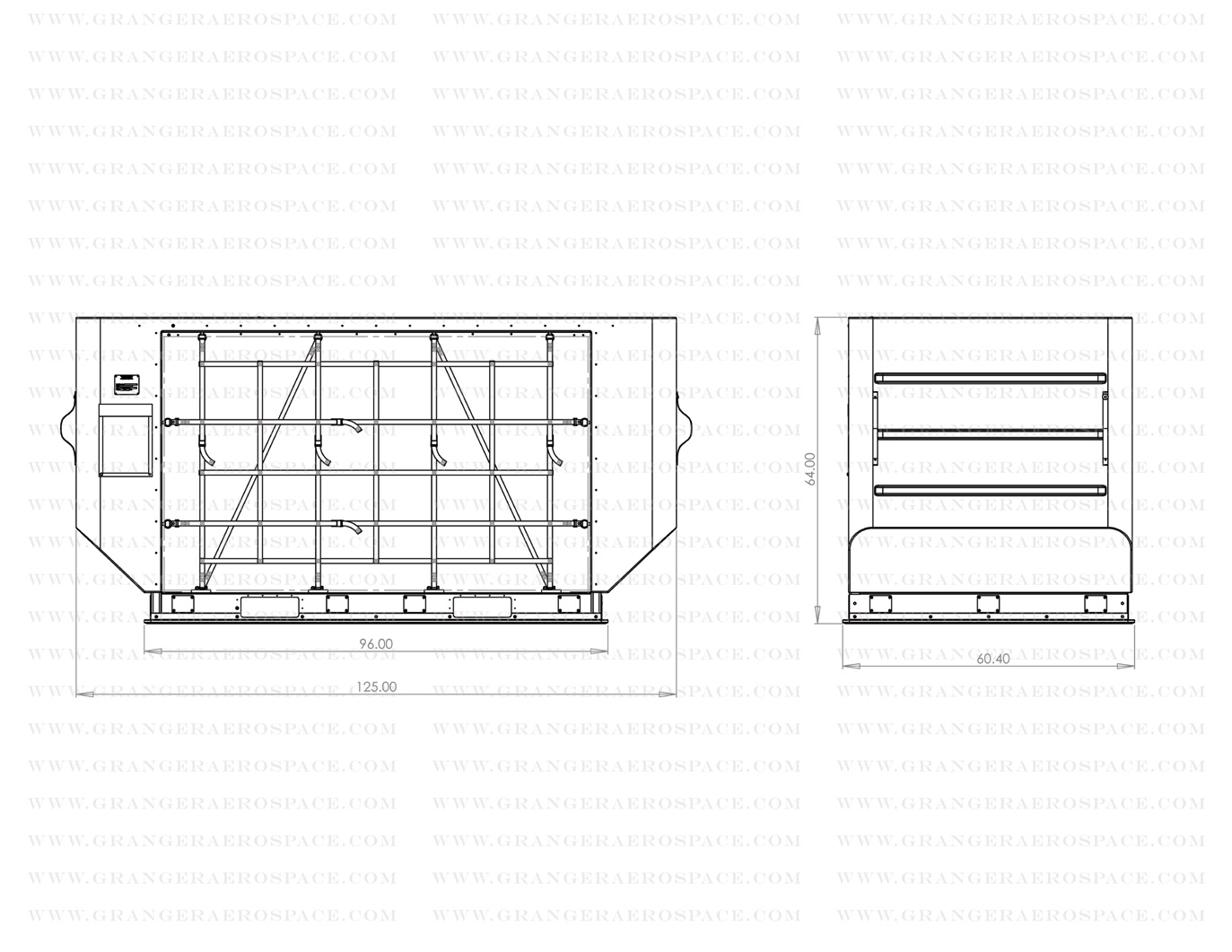 LD 8 Dimensions, LD 8 Air Cargo Container Dimensions, DQN dimensions