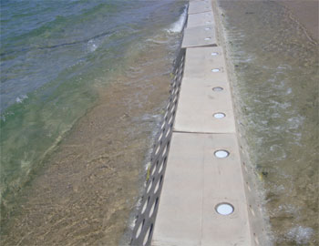 Sandsaver Module, Natural Solution to Beach Erosion