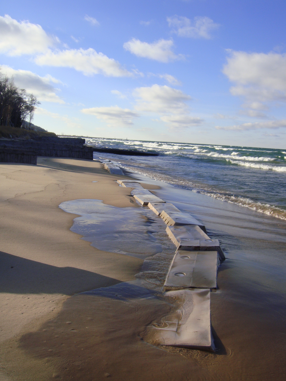 Sandsaver Dec 26 2011 Lake Michigan