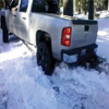 Truck Stuck in The Snow