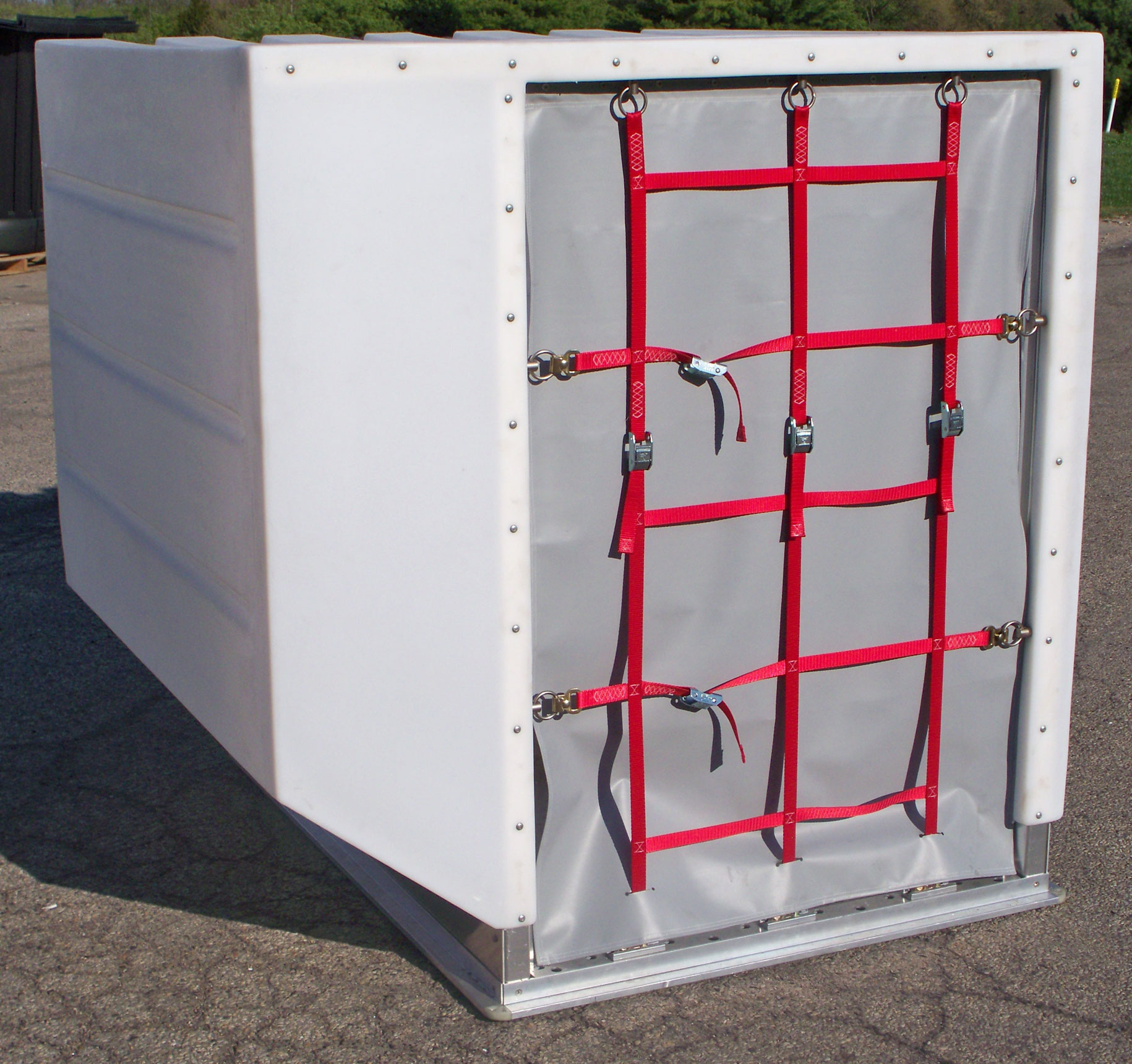 Granger Aerospace ULD 2, Granger Aerospace LD 2, ULD 2 Air Cargo Container, LD 2 Aerospace Cargo Container